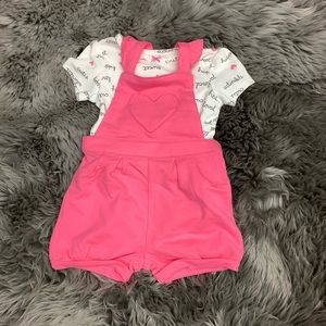 Carter's | Baby Set | Overalls | Endearing Words